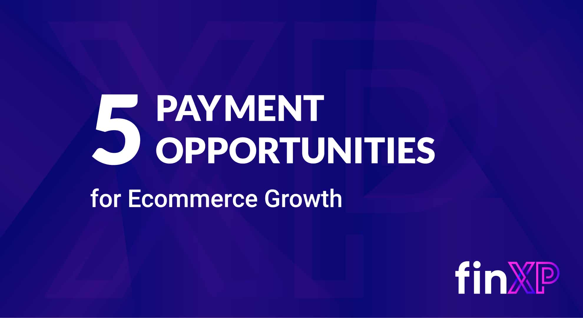 Payment Opportunities to Boost Ecommerce Growth Image