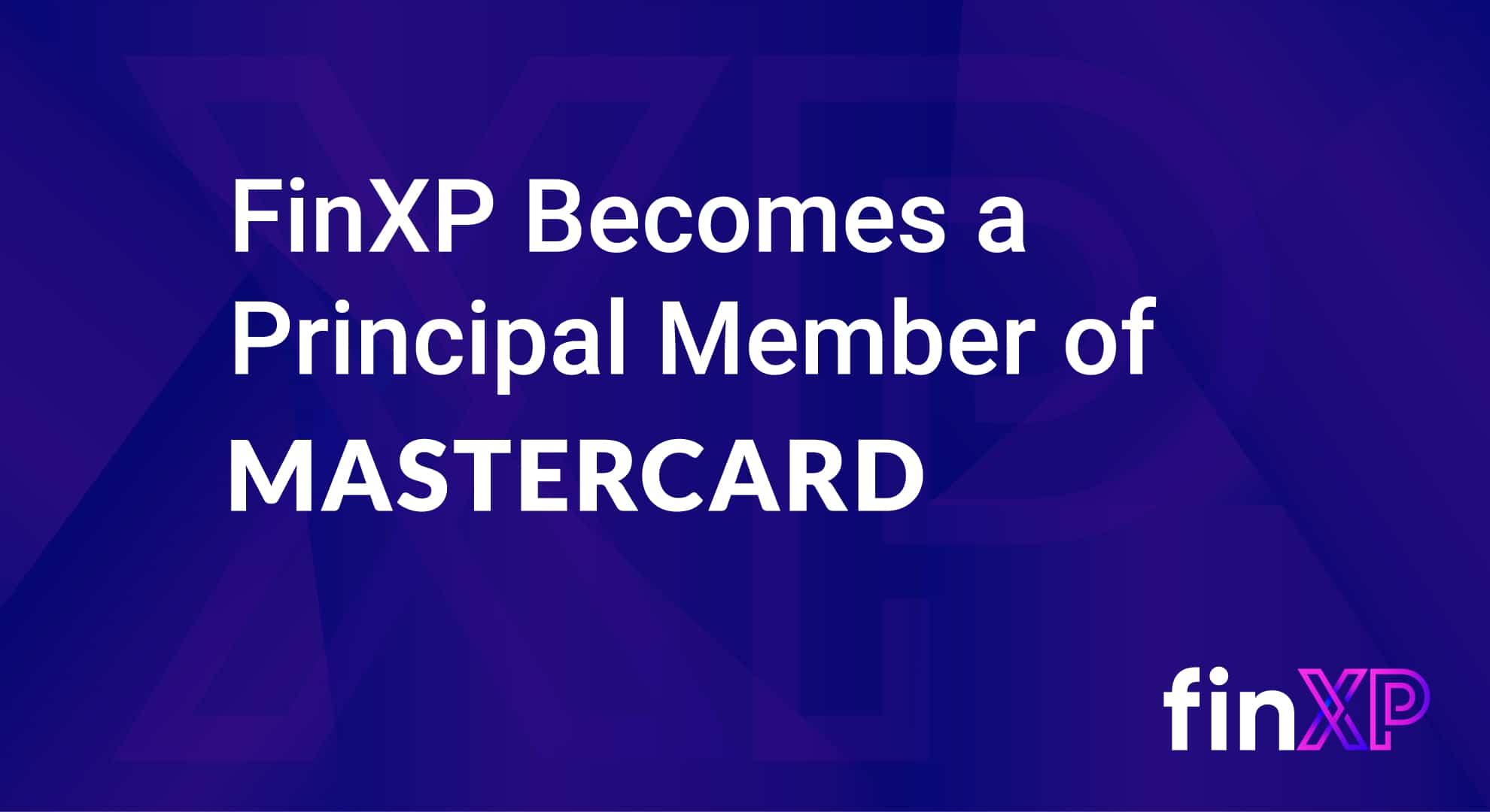 FinXP becomes a principal member of Mastercard
